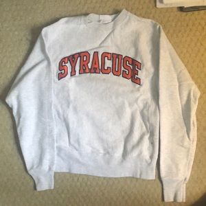 Champion Syracuse Crew Neck Sweater